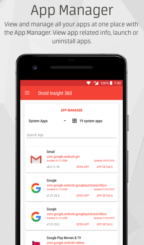 droid insight 360 app manager
