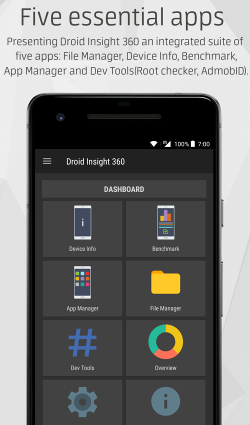 Dashboard_Dark Droid Insight 360