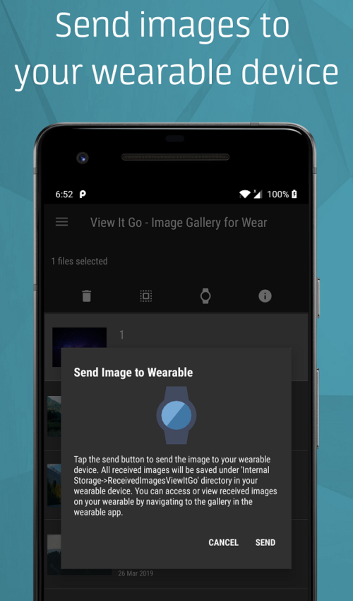 View it go Image Gallery for wear screen 4