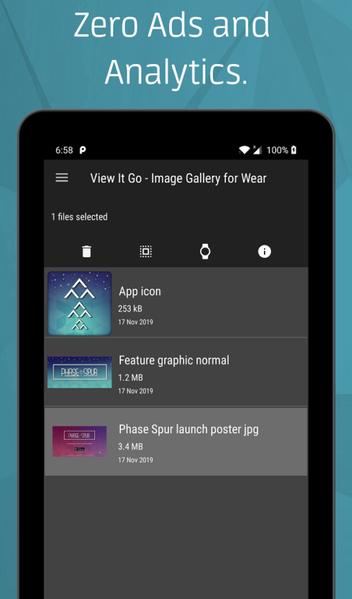View it go Image Gallery for wear screen 2