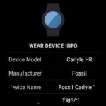 wear device info